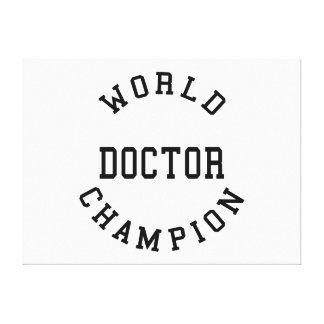 Doutores legal retros Presente Doutor do campeão Impressão Em Canvas