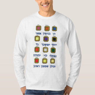 Doze (12) tribos de camiseta longa da luva de