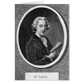 Dr. Arne, gravada para 'o universal Cartões