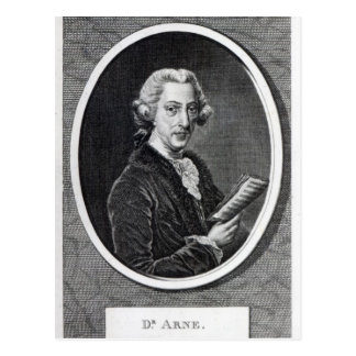 Dr Arne gravada para o universal Cartoes Postais