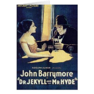 """""""Dr. Jekyll & cartão do Sr. Hyde"""""""