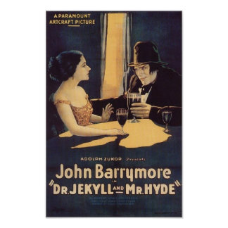 Dr. Jekyll e cartaz cinematográfico do Sr. Hyde Poster