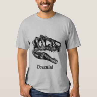 Dracula! Crânio do dinossauro do Allosaurus T-shirts