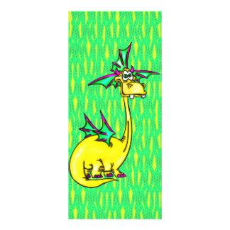Dragão à moda 10.16 x 22.86cm panfleto