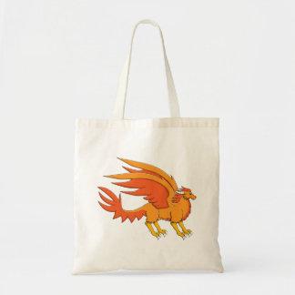 Dragão ambarino bolsa de lona