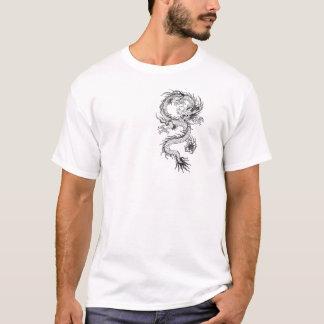 Dragão asiático camiseta