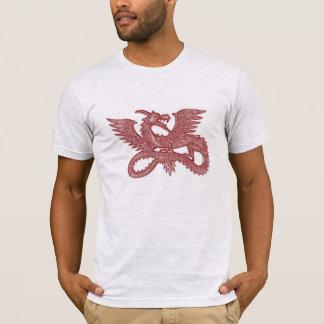 Dragão asiático do estilo camiseta