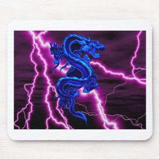 dragão azul/roxo mousepads