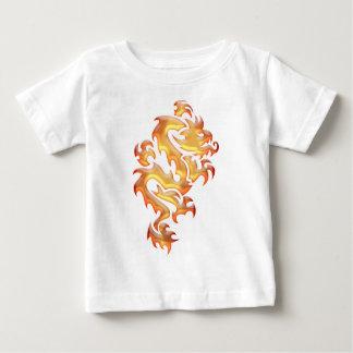 Dragão Camiseta Para Bebê