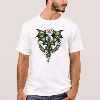 dragão celta camiseta
