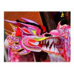 Dragão chinês cartões postais