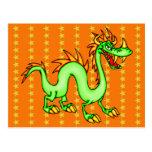 Dragão chinês considerável cartões postais