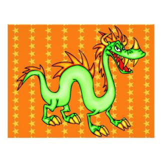 Dragão chinês considerável panfletos