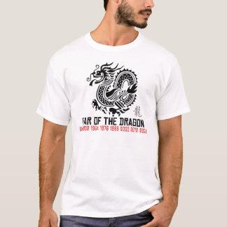 Dragão chinês do ano novo camiseta