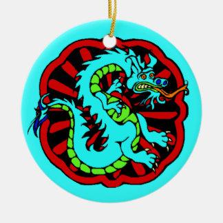 Dragão chinês do zodíaco do aniversário do ornamen enfeites
