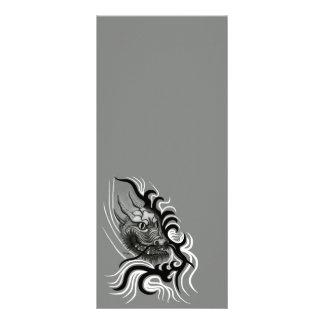 Dragão de China em Tattoostyle 10.16 X 22.86cm Panfleto