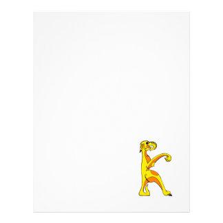 dragão de k panfletos personalizado