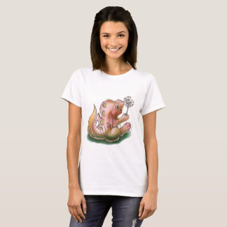 Dragão de Munchkin e camisa do sopro do