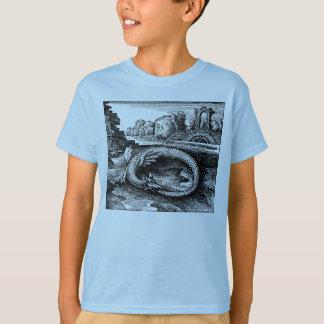 Dragão de Ouroboros - camiseta