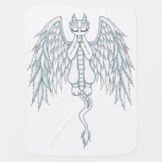 Dragão do anjo-da-guarda mantas para bebe