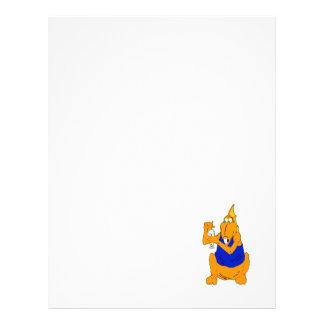Dragão do batido panfleto personalizados