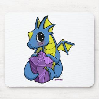 dragão do chibi mouse pad