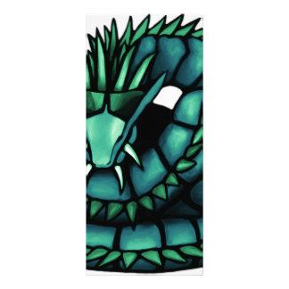 Dragão do Hydra 10.16 X 22.86cm Panfleto