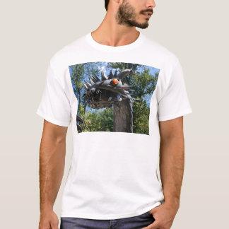 Dragão do motociclista camiseta