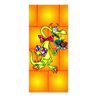 Dragão do namorando 10.16 x 22.86cm panfleto