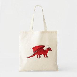 Dragão do rubi bolsa para compras