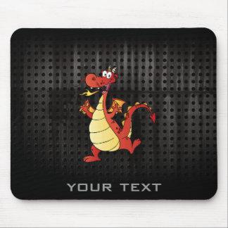Dragão dos desenhos animados; Áspero Mouse Pad