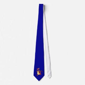 Dragão dos desenhos animados; Azul Gravata