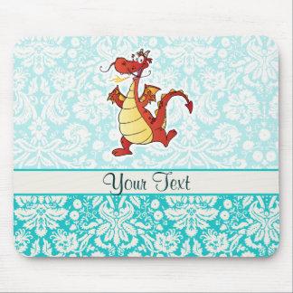 Dragão dos desenhos animados; Bonito Mouse Pad
