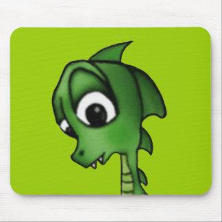 Dragão dos desenhos animados mousepad