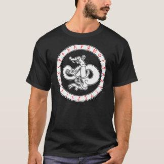 Dragão dos noruegueses camiseta