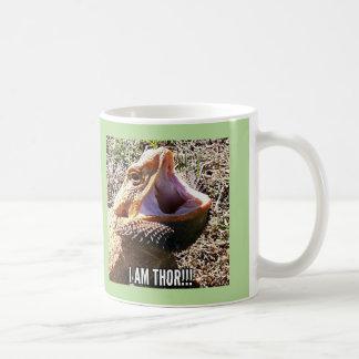 Dragão farpado como a caneca de café do Thor