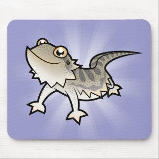 Dragão farpado dos desenhos animados/dragão de Ran Mousepads