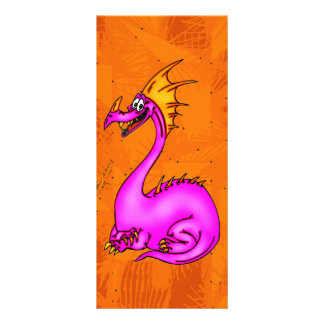 Dragão feliz 10.16 x 22.86cm panfleto