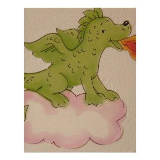 dragão panfleto