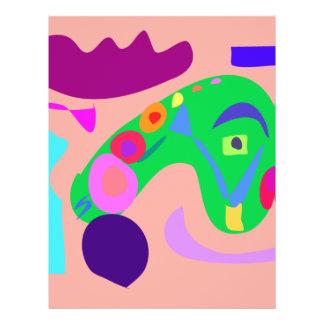 Dragão Panfletos Coloridos