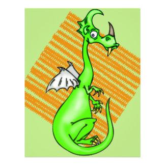 Dragão hesitante panfletos personalizado
