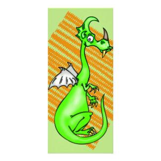 Dragão hesitante 10.16 x 22.86cm panfleto
