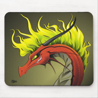 Dragão Mousepad do demónio