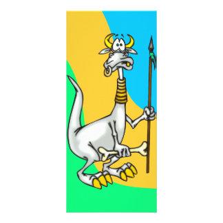 Dragão nativo 10.16 x 22.86cm panfleto