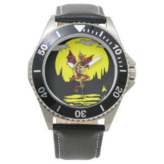Dragão no relógio delével do luar