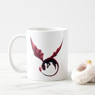 Dragão Ouroboros de Alavon caneca de 11 onças
