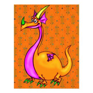 Dragão parvo panfletos personalizado