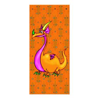 Dragão parvo 10.16 x 22.86cm panfleto
