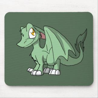 Dragão peludo de Recolorable SD com alguma parte Mouse Pad