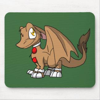 Dragão peludo do SD do pão-de-espécie Mouse Pad